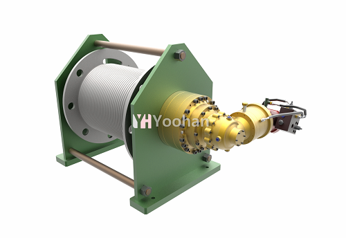 _YoohanENS_ Hydraulic Right_Angle Winch
